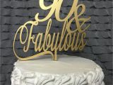90th Birthday Gifts for Him Australia 90th Cake topper 90 Fabulous Cake topper 90th Birthday