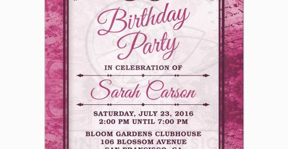 90th Birthday Invitation Template Free Party Invitations Templates