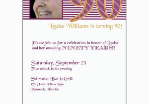 90th Birthday Invitation Template Free Templates Http Webdesign14 Com