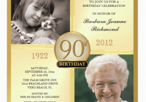 90th Birthday Invitation Wording 90th Birthday Invitations and Invitation Wording
