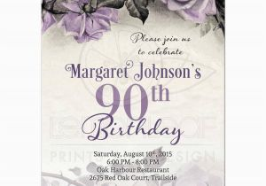 90th Birthday Invitation Wording Samples Party Invitations Templates