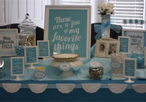 90th Birthday Party Decorations Ideas My Favorite Things Theme