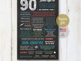 90th Birthday Presents for Him Personalized 90th Birthday Gift for Men Him Husband