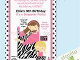 9th Birthday Invitation Wording 10th Birthday Invitations Best Party Ideas