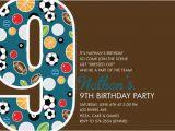 9th Birthday Invitation Wording 13 Best Photos Of 9th Birthday Invitation Wording Ideas