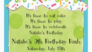 9th Birthday Invitation Wording 13 Best Photos Of 9th Birthday Invitation Wording Ideas