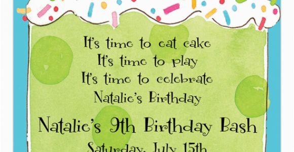 9th Birthday Invitation Wording 13 Best Photos Of Ideas