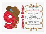 9th Birthday Invitation Wording 9th Birthday Invitation Cards