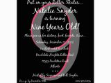 9th Birthday Invitation Wording Disco Dots Hot Pink 9th Birthday Invitations Paperstyle