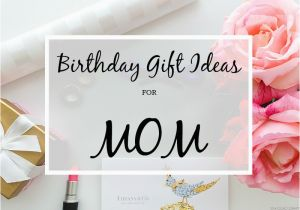 A Gift For Mom On Her Birthday Glad Diary Ideas