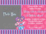Abby Cadabby Birthday Invitations Abby Cadabby Birthday Invitation