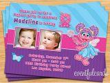 Abby Cadabby Birthday Invitations Abby Cadabby Birthday Party Invitation by eventfulcards