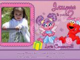 Abby Cadabby Birthday Invitations Customized Printable Abby Cadabby Elmo Birthday Invitation