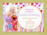 Abby Cadabby Birthday Invitations Elmo and Abby Cadabby Sesame Street Birthday Invitation