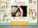 Abc Birthday Cards 25 Best Ideas About Alphabet Birthday Parties On