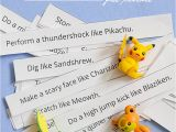 Action Birthday Cards Free Printable Pokemon Action Cards and Next Comes L