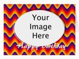 Add Photo In Birthday Cards for Free Add Your Photo Happy Birthday Greeting Card Zazzle