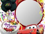 Add Photo to Birthday Card Free Birthday Card Cars themed Click to Add A Photo and Send