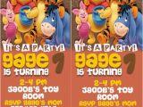 Admit One Birthday Invitations Printable Disney 39 S Pooh Admit One Ticket Birthday Invitation