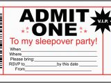 Admit One Birthday Invitations Printable Printable Party Invites Template Best Template Collection