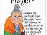 Adult Humor Birthday Cards Senility Prayer Birthday Card Nobleworkscards Com