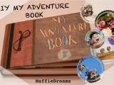 Adventure Birthday Gifts for Him Diy My Adventure Book Up Crafts Our A