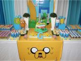 Adventure Time Birthday Decorations Adventure Time Birthday Party Ideas Photo 1 Of 21