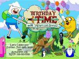 Adventure Time Birthday Decorations Adventure Time Birthday Party Invitations