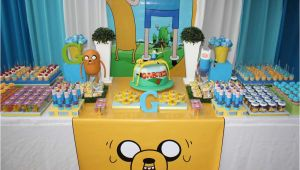 Adventure Time Birthday Party Decorations Adventure Time Birthday Party Ideas Photo 1 Of 21