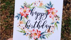 Aesthetic Birthday Cards Happy Birthday Card Print Card Printing Happy Birthday