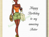 African American Birthday Cards for Sister African American Sister Birthday Card A