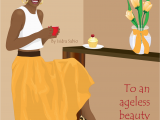 Afrocentric Birthday Cards Card Available now This Afrocentric Birthday Card Women