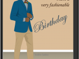 Afrocentric Birthday Cards Coming soon This Afrocentric Birthday Card for Men Shows A