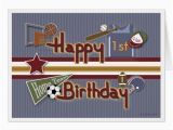 Age Specific Birthday Cards Age Specific All Sports Birthday Card Template Zazzle Co Nz