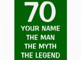 Age Specific Birthday Cards Age Specific Birthday Card the Man Myth Legend Zazzle