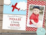 Airplane 1st Birthday Invitations 79 Best 1st Bday Images On Pinterest Aircraft Airplane