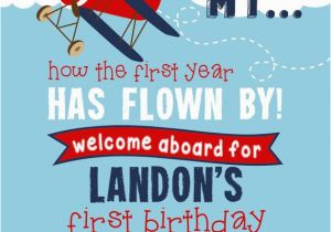 Airplane 1st Birthday Invitations Best 25 Boy Birthday Invitations Ideas On Pinterest 1st
