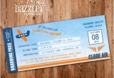 Airplane Boarding Pass Birthday Invitations Printable Airplane Boarding Pass Birthday Invitation