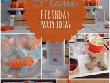 Airplane Decorations for Birthday Party Boy 39 S Plane themed Birthday Party Ideas Spaceships and