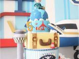 Airplane Decorations for Birthday Party Kara 39 S Party Ideas Airplane 5th Birthday Party Kara 39 S