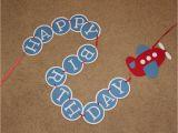 Airplane Happy Birthday Banner Airplane Birthday Banner Happy Birthday Nate by