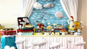 Airplane themed Birthday Party Decorations Come Fly with Me An Airplane Party B Lovely events
