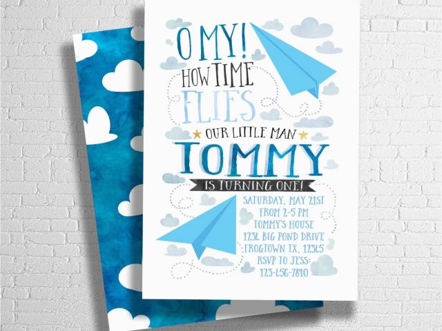 Download By SizeHandphone Tablet Desktop Original Size Back To Airplane Themed Birthday Party Invitations