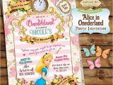 Alice In Onederland Birthday Invitations 280 Best Images About Tiendas Etsy Venezuela On Pinterest