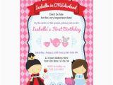 Alice In Onederland Birthday Invitations Alice In Wonderland Invitations Announcements Zazzle Co Uk