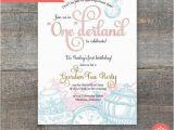 Alice In Wonderland 1st Birthday Invitations Alice In Wonderland First Birthday Party by Jillhartline