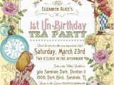 Alice In Wonderland Birthday Invites Free Printable Alice In Wonderland Birthday Invitations