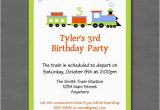 All Aboard Birthday Invitation All Aboard Train Birthday Party Invitation
