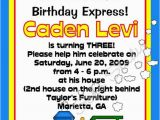 All Aboard Birthday Invitation Train All Aboard 5×7 Birthday Invitations Set Of 10