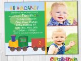 All Aboard Birthday Invitation Train Birthday Invitation All Aboard by Cupcake Dream